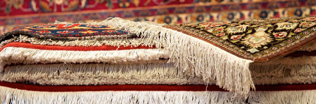 Persiska mattor och orientaliska mattor.